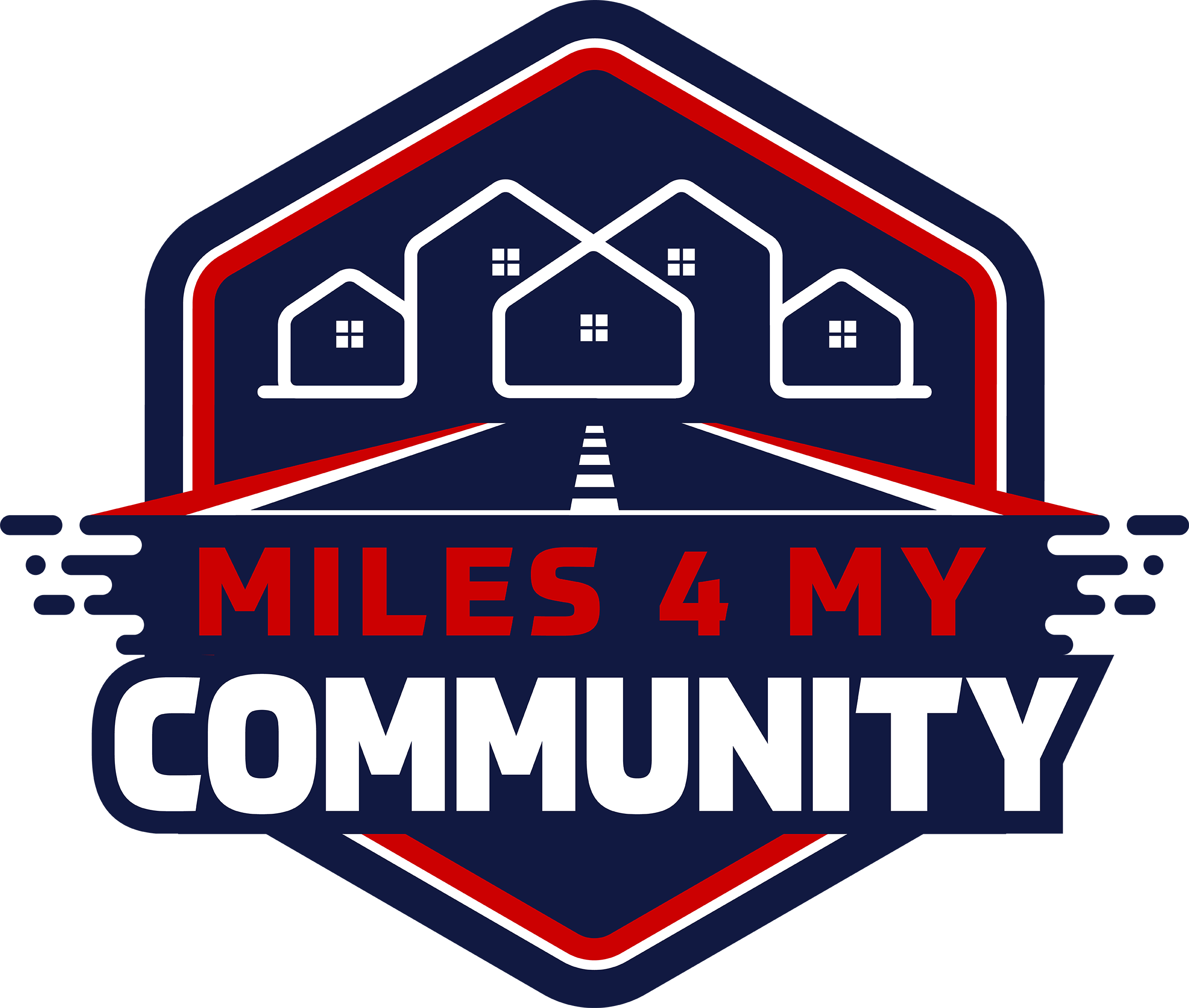 Miles 4 My Community Logo